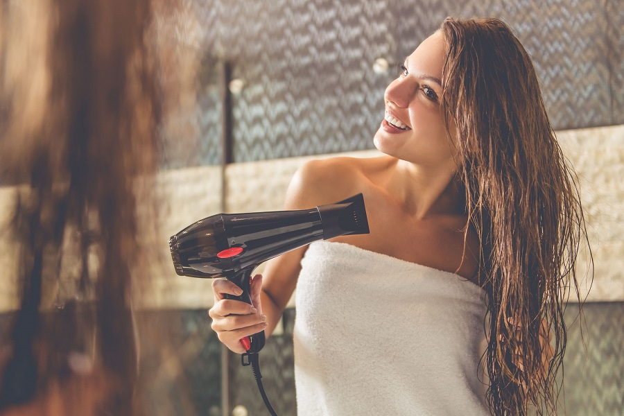 Keep your silky hair