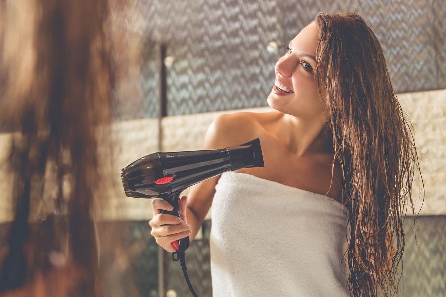 Keep your silky hair