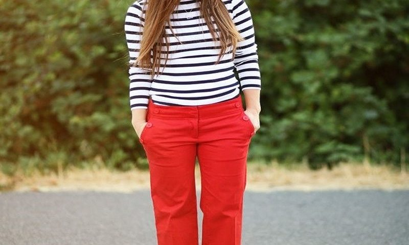 women red pants
