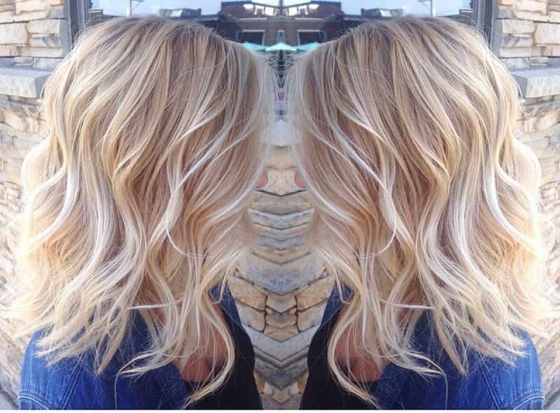 light blond hair