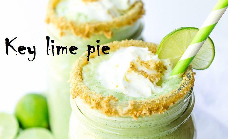 Key lime pie smoothie