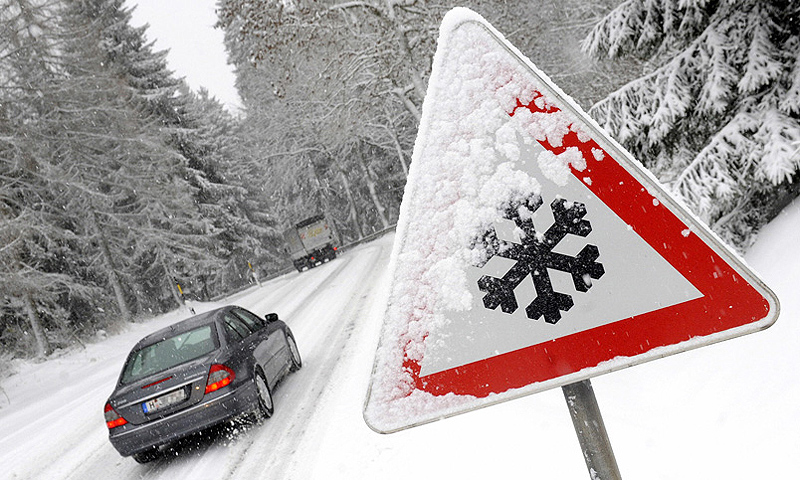 How to safe driving in winter