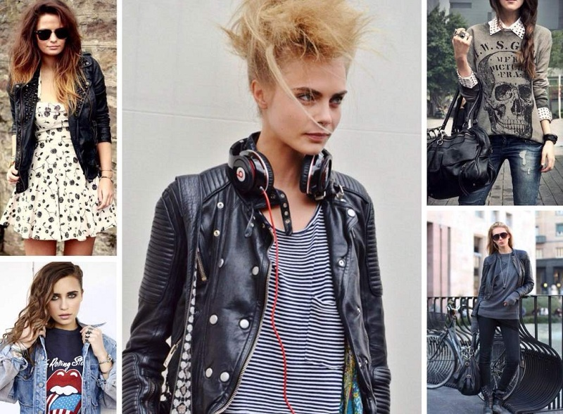 Glam Rock Style In Clothes For Girls