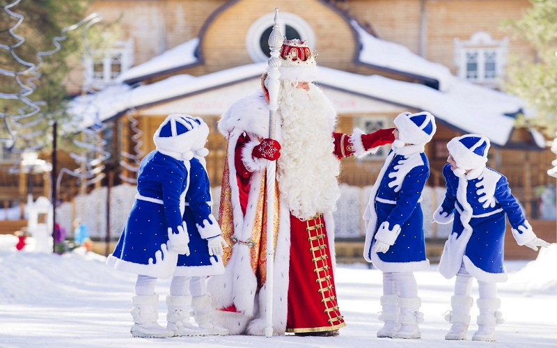 discover New Year's traditions in Russia