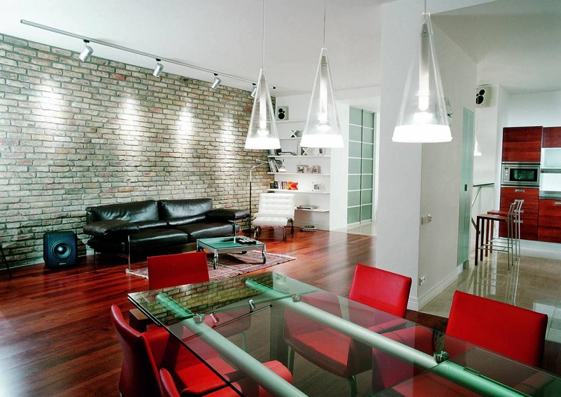 Techno Style In The Interior Of The Apartment
