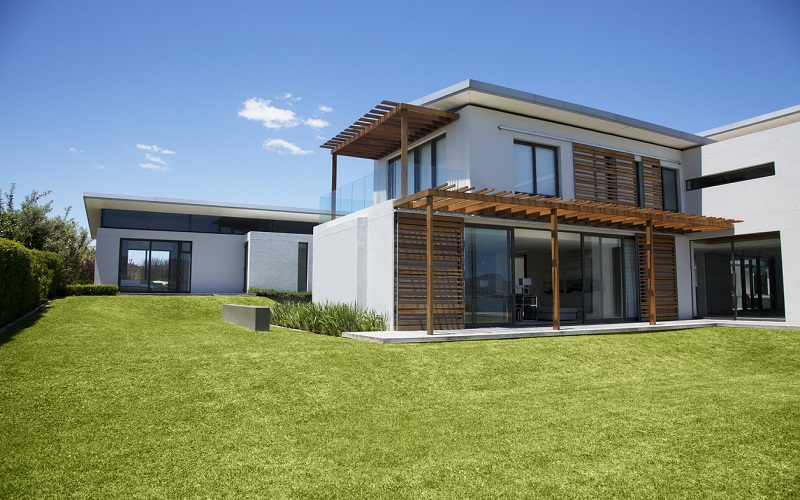 sustainable ecological house