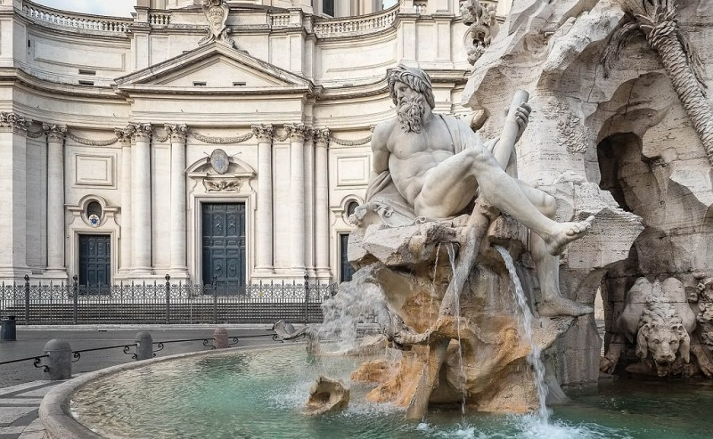 Monuments And Architecture Of Rome